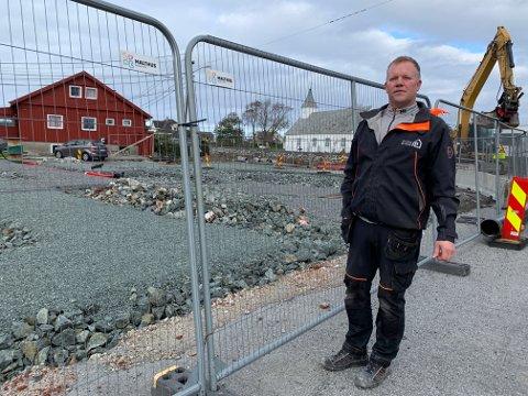 Leder i Skude Bygg AS, Arne Egil Thorsvik fortviler over biskopens avslag.