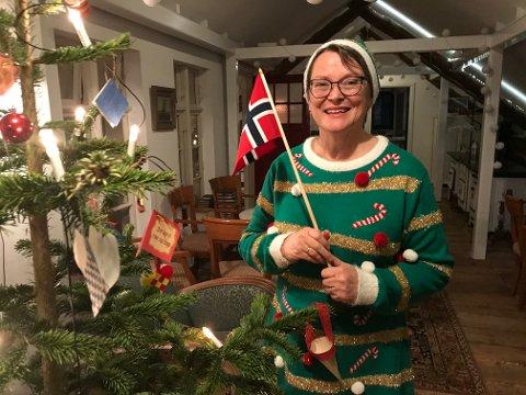 FORNØYD: Leder av Vats Bygdekvinnelag Elisabeth Nesheim er strålende fornøyd etter meldingen fra Gjensidigestiftelsen kom onsdag.