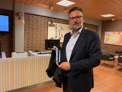 Jarle Nilsen, ordfører i Karmøy.