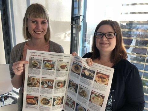 """Journalistene Stine Helgesen-Eide og Anette Vårvik har sammen med Geir Å. Kristiansen spist seg gjennom 33 retter fra """"Haugesund i 100"""". Resultatet ser du i dagens papirutgave og på nett."""
