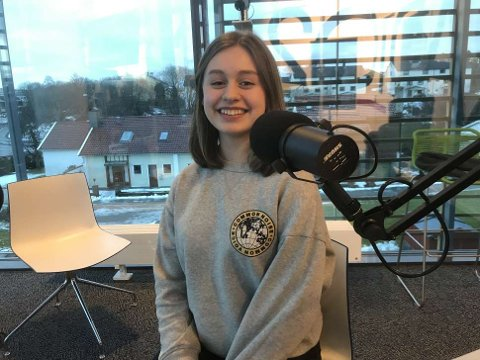 Clara Viktoria Fischer vant forrige uke Talentspire på Skeisvang videregående.