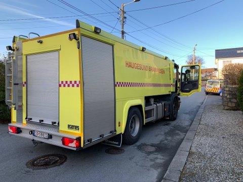 Brannvesenet rykket torsdag ut til brann i Hornkloves veg i Haugesund.