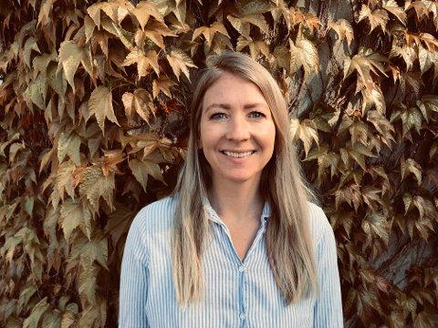 FIKK JOBBEN: Tina Lønning er ansatt hos Hamnøy.