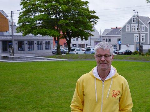 NEI: Tom Landås (KrF) og hans politiske samarbeidspartnere sa nei til til Bytunet Nattklubb.