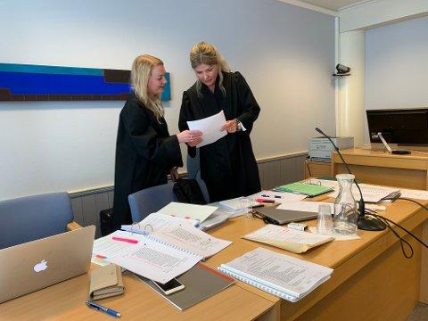 VANT IKKE FRAM: Statsadvokat Birgitte Budal Løvlund (t.h.) var aktor i straffesaken, mens advokat Silje Christine Hellesen var kvinnens bistandsadvokat.