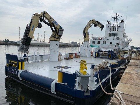 BYGGET OM: «Mar Fortune» har blitt omgjort fra supplybåt til servicefartøy for oppdrettsnæringen