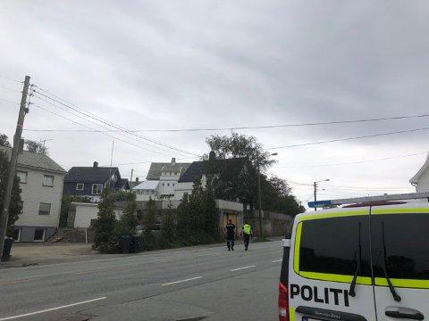 Mandag kveld var det en trafikkulykke mellom to motorsykler i Skjoldavegen.
