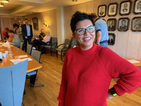 Veronika Brekke Jakobsen var godt fornøyd med at flere kvinner er stemt inn i Karmøy kommunestyre.