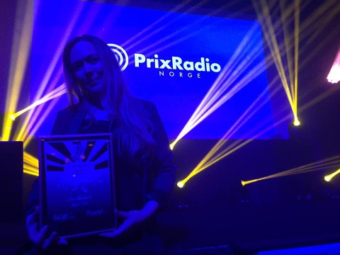 VANT: Monica Thorsen og Radio 102 ble kårets til årets lokalradio.