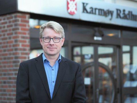 LYSER UT STILLING: KommunalsjefBjørn Andersen foroppvekst og kulturi Karmøy kommune leter etter en ny rektor.