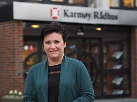 NY JOBB: Margareth Langebro startet torsdag i ny jobb i Karmøy kommune.