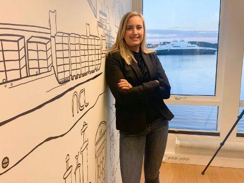EKSPANSIV STRATEGI: Administrerende direktør i North Sea Container Line (NCL), Bente Hetland, ønsker å hjelpe eksportnæringen med å senke klimaavtrykket. Nye serviceruter med kontainerskip er på trappene.