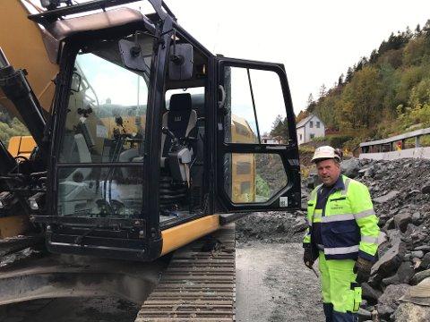 Svein Tore Opdal fikk en sur start på dagen.