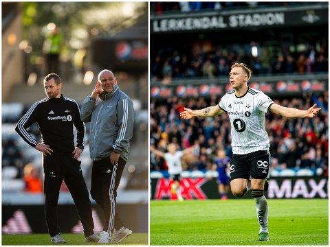 TJENTE MEST: Eirik Horneland (t.v.), Karl Oskar Emberland (i midten) og Alexander Søderlund (t.h.) fikk alle godt betalt i Rosenborg.