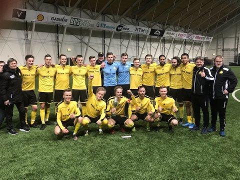 VINNERLAGET: Bremnes gikk til topps i Karmøy Cup for andre året på rad.