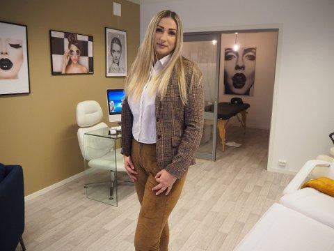 REALISERER DRØMMEN: 33 år gamle  Mariana Alexandra Tudose åpner ny hudpleiesalong på Åkra.