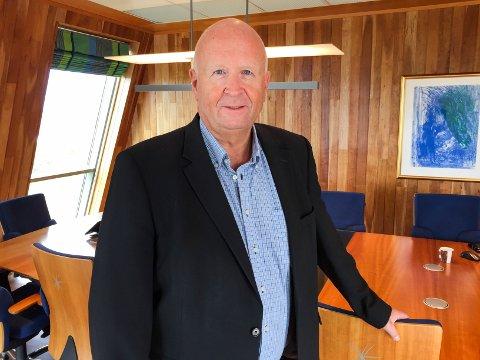 KJØPER: – Dette vil være med på å sikre arbeidsplasser som allerede er her, sier Olav Linga i Haugaland Kraft.
