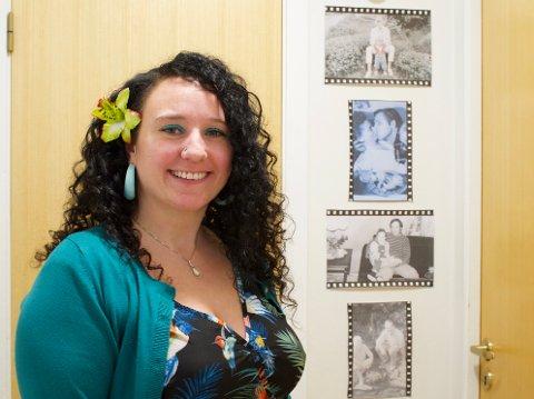 GODE MINNER: Therese Kolstø (37) forteller om en oppvekst i fosterhjem som var preget av gode og nære relasjoner.