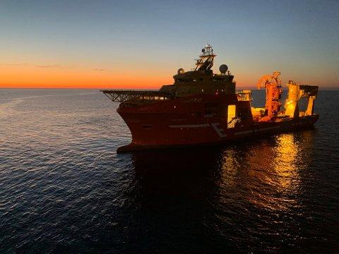 UROLIG FARVANN: Eidesviks «Viking Neptun». Rederiet beskriver et marked preget av pandemi og oljeprisfall.