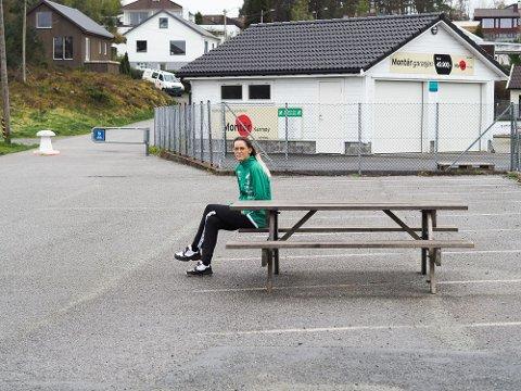 AKTIVITETSPARK: Her vil KIL sette opp en aktivitetspark, som skal være åpen for alle.