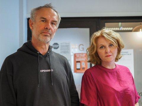 OPPGITTE: Morten Skaret Mathisen og Mabel Mathisen Skaret fikk ikke si opp skolefritidsordningen da skolene åpnet igjen.