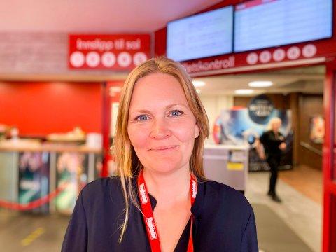 Haugesund170820: FILMFSTIVAL: - Å gå på filmfestivalen skal være en pause og nesten som normalt, sier kinosjef Marit Sætre Færevåg.