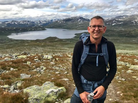 GLAD I TUR OG NATUR: Oddbjørn Stangeland, her avbildet i Hemsedal.