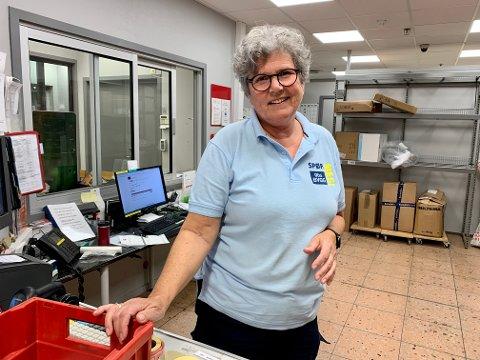 33 år: Over halve livet har Sidsel Aasland jobbet i varehuset på Raglamyr. Lørdag stengte hun og gjengen på Obs Bygg butikken.