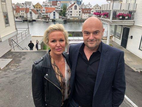 ÅPNER IGJEN: Etter to uker med stengt, åpner Synnøve Haftorsen Brakstad og Ottar Brakstad dørene igjen.