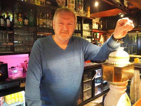 ÅPNER IGJEN: Daglig leder ved Gutenbeg pub, Eilert Lund.