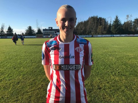 BANENS BESTE KUNNE IKKE HINDRE TAP: Karina Sævik måtte konstatere at Avaldsnes gikk på sitt fjerde tap på rappen.