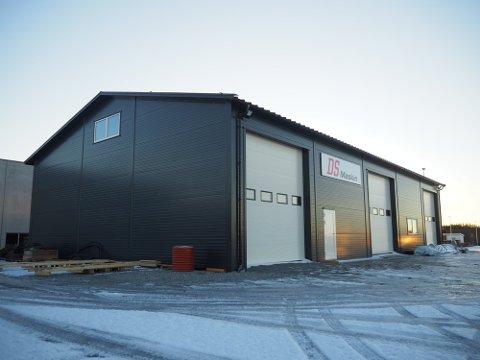 INVESTERTE MILLIONER: Like før jul i fjor flyttet Danielsen & Saltvedt Maskin AS inn i nybygget i Veakrossen.