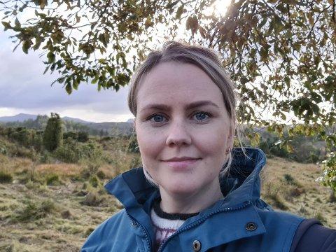 BYTTER JOBB: Irene Flatnes Haldin slutter som redaktør i Vestavind og begynner som journalist i Sunnhordland.