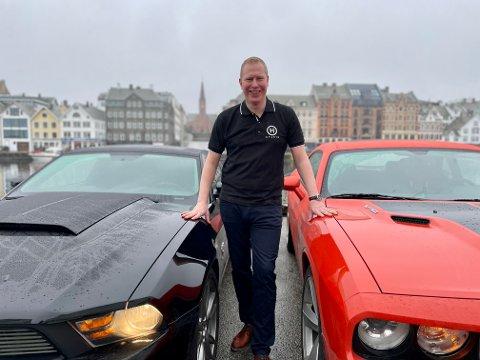 NYTT KONSEPT: Tysværbu Trond Erik Jacobsen lanserte et nytt konsept med base fra Risøy denne helgen.