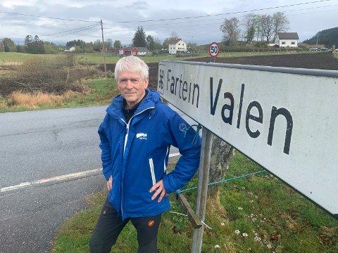 TILTAKSPAKKE: Lars Einar Hollund i Sveio Høyre vi ha en tiltakspakke for hele kommunen. Her ligger også ideen om nytt oppvekstsenter ved Valenhemen.