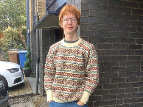 BLE OVERRASKET: Alexander Roach fikk en overraskende beskjed da han var på skolen forrige uke.