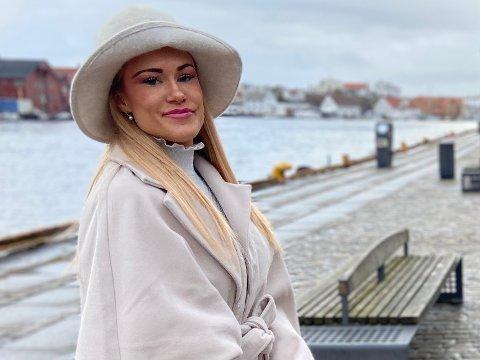 MISS NORWAY: Turid Strømfors (26) er stolt over å representere «sildabyen» i Miss Norway 2021.