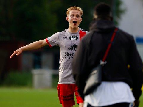 Attraktiv: Torje Naustdal er på blokka til mange klubber i eliteserien. Alt tyder på at Haugesund ligger nærmest å sikre seg 21-åringen fra Strømmen.