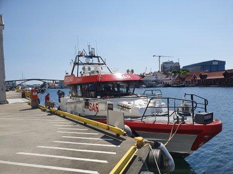 """TRAVLERE: Det har vært en travlere sommer for """"Horn Rescue"""" og mannskapet."""