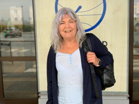 ENVEISBILLETT: Ingveig Fjell har ikke tenkt på hjemreisen enda, når hun nå drar til feriehuset i Spania for første gang på over ett år.