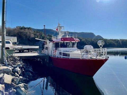 VIKTIG TILBUD: - Det er trist og leit at det ikke er båtforbindelse lenger, synes Kåre Inge Hettervik.
