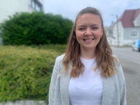 SØKTE PÅ JOBB: Hege Engen Vetrhus (26) søkte jobb i Haugesund-firma med lokalkontor i Tønsberg.