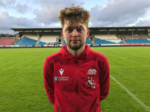 SKUFFET MÅLSCORER: Robert Kling måtte konstatere at det heller ikke ble Vard-seier mot Rosenborg 2.