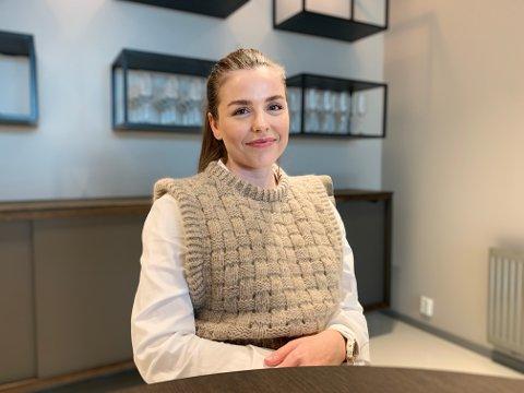NY JOBB: Aurora Sødahl Ekrene (31) tenkte at hun ikke var kvalifisert da hun så stillingsannonsen fra advokatkontoret. Det viste seg å ikke stemme.