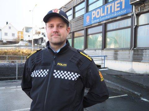 I EN ETTERFORSKNINGSFASE: Det sier Morten Areklett ved Karmøy lensmannskontor.