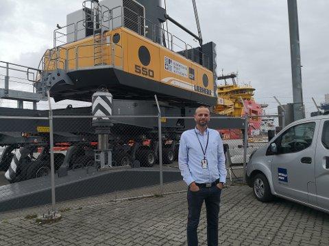 ØNSKER CRUISE VELKOMMEN: Maritim direktør Geirmund Eikje sier Karmsund Havn er avhengig av rask ekspedering for at nye og enda større cruiseskip skal kunne ankomme Haugesund kommende sesong.