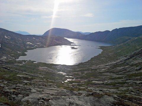Hansfinnvatnet berøres av Vassenden-utbyggingen. Foto: Lars Olve Hesjedal
