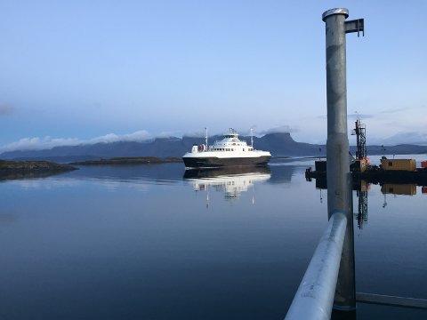 Herøysund ankommer Flostad