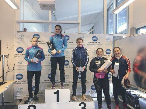 Lørdag ble Eirin Kvandal nummer to i Granåsen (bildet), men søndag slo hun til med seier. Foto: Trønderhopp