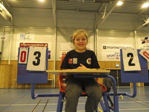 Nye rekrutter. Emilie Magnarsen 6 år